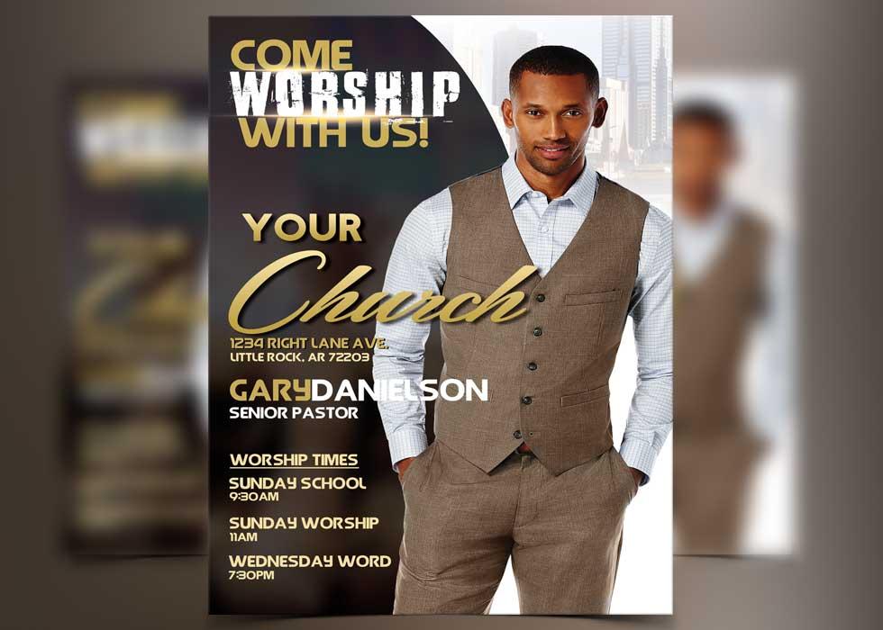 Premium Church Photoshop Flyer Templates - FlyerThemes
